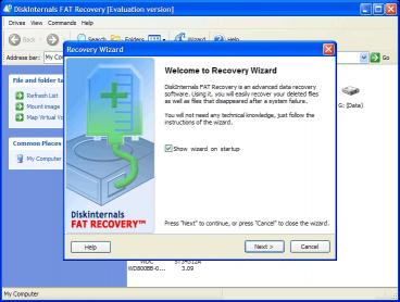 Download DiskInternals FAT Recovery