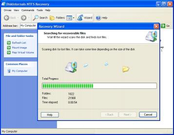 Download DiskInternals NTFS Recovery