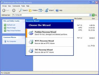 Download DiskInternals Partition Recovery