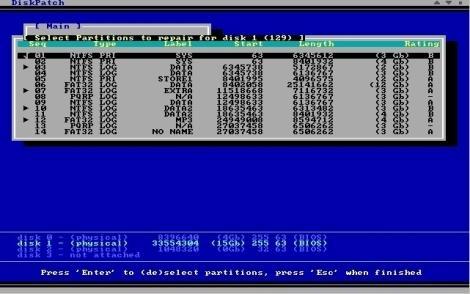 Download DiskPatch Disk Repair