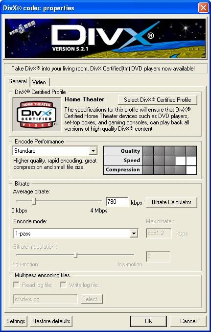 Download codec directshow.