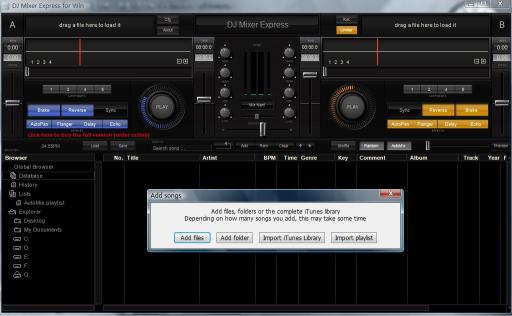 Download DJ Mixer Express for Windows