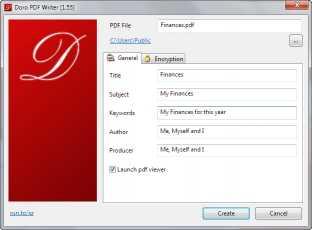 Doro::Free PDF Printer