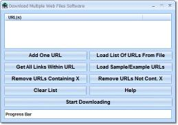 Download Download Multiple Web Files Software
