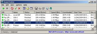 Download DownTester