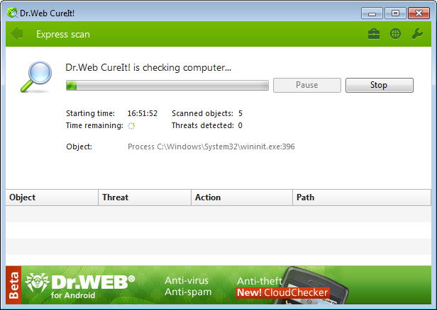 dr web cureit free download full version