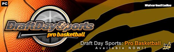 draft day sports:pro basketball