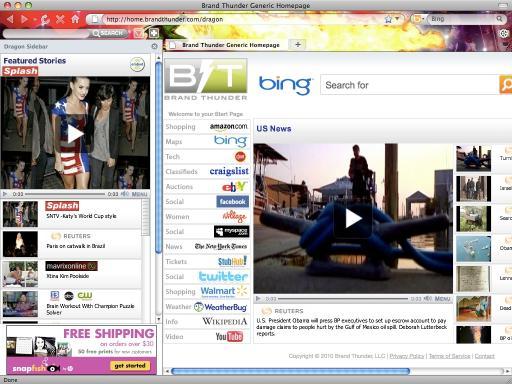 Download Dragon Internet Explorer Theme