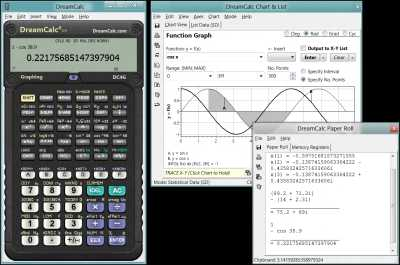 Download DreamCalc DCG Graphing Calculator