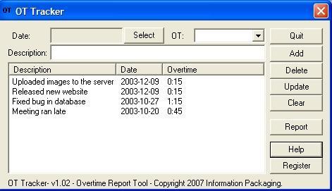 Download DreamJobGlobal.com Overtime Tracker