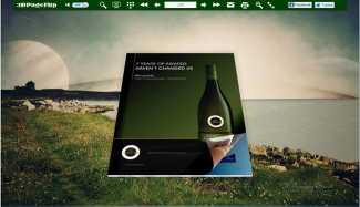 Dreamy theme for 3D Flip eBook