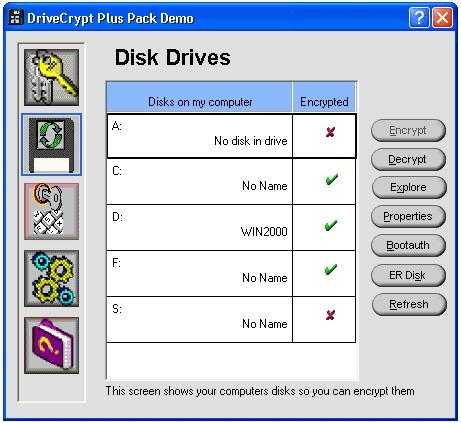 Download DriveCrypt Plus Pack