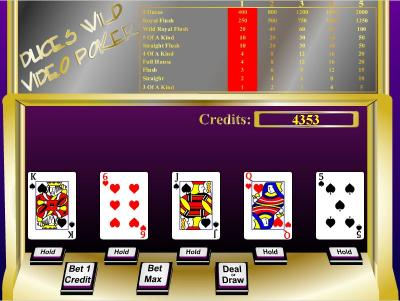 Download Duces Wild - Video Poker