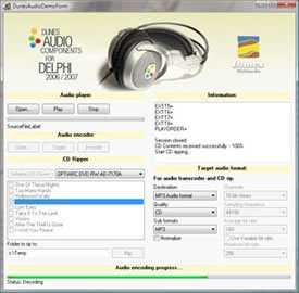 Dunes Audio Components for Delphi