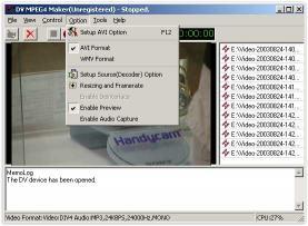 Download DV MPEG4 Maker