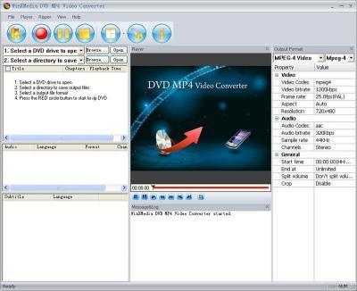 Download DVD MP4 Video Converter Expert