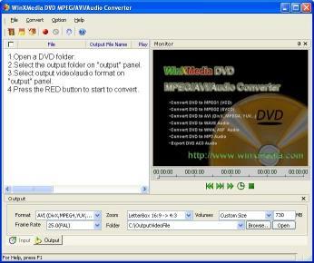 Download DVD MPEG/AVI/Audio Converter