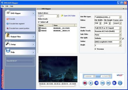 Download DVD2AVI Ripper Professional