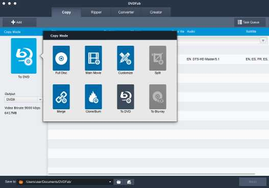 DVDFab Blu-ray Toolkit for Mac