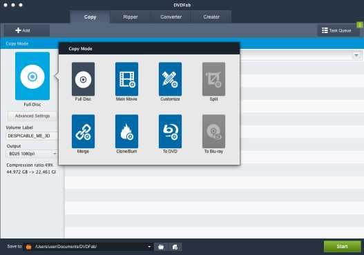 DVDFab Copy Suite for Mac