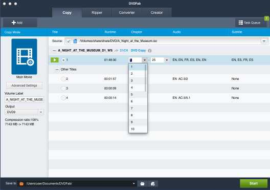 DVDFab DVD Copy and DVD Ripper