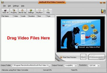 Download dvdXsoft iPod Video Converter