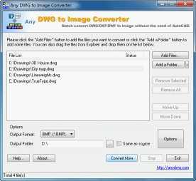 DWG to JPG Converter 2008.1