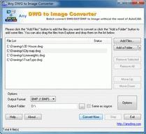 Download DWG to JPG Converter 2009.6