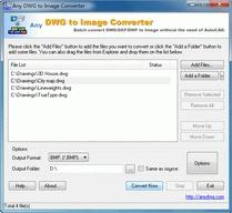 Download DWG to JPG Converter 2009.9