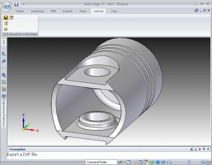 Download DXF Export for Solid Edge