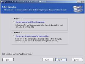 Download Dynamic Disk Converter Server Edition