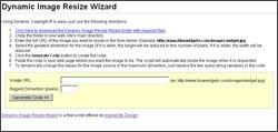 Download Dynamic Image Resize Wizard