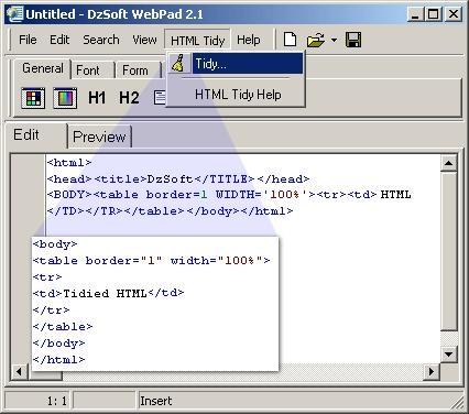Download DzSoft WebPad