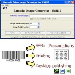 Download EAN13 barcode prime image generator