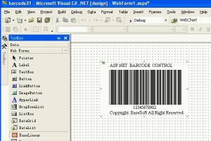 Download EaseSoft ASP.NET Barcode Control