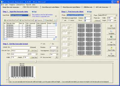 EasierSoft Free Barcode Generator
