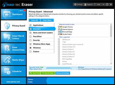 Download east-tec Eraser 2014