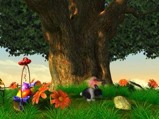 Download Easter 3D Screensaver