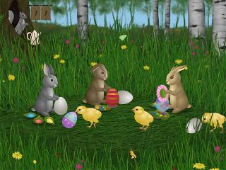 Download Easter Bunnies Screensaver