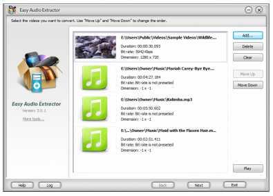 Easy Audio Extractor