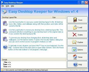 Download Easy Desktop Keeper