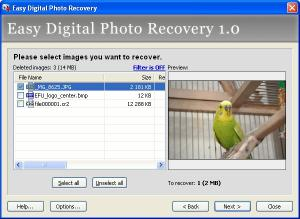 Download Easy Digital Photo Recovery