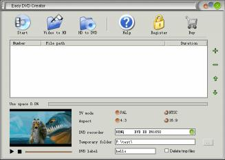 Download Easy DVD Creator