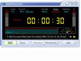 Easy MP3 Recorder by Wordaddin