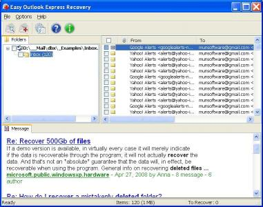 Download Easy Outlook Express Recovery