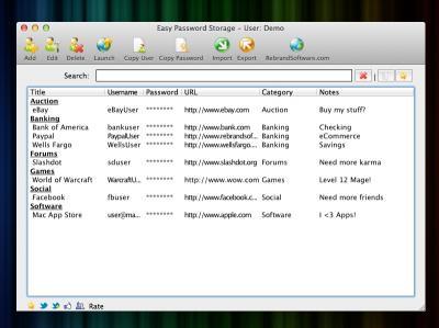 Download Easy Password Storage
