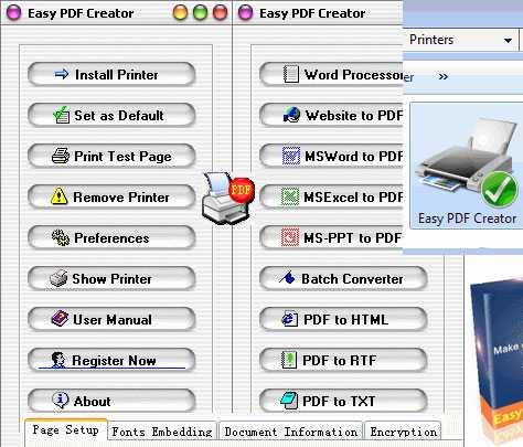 Easy PDF Creator