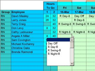 Download Easy Shift Scheduler for Excel