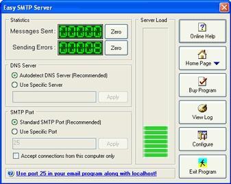 Download Easy SMTP Server