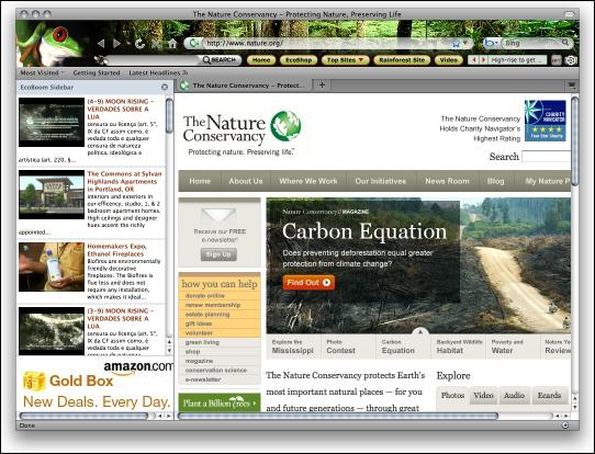 Download ECO Green Nature Theme for Firefox
